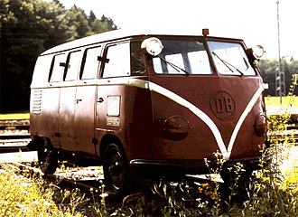 Volkswagen Type 2 - Rail-going draisine