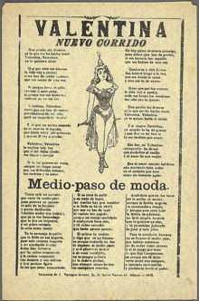 Corrido - Wikipedia, the free encyclopedia