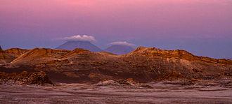 Valle de la Luna (Chile) - Valle de la Luna Landscape.
