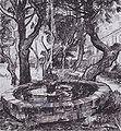 Van Gogh - Brunnen im Garten des Hospitals Saint-Paul.jpeg