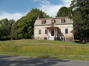 Van Schaick Island - The Van Schaick Mansion, built between 1735 and 1755, was the home of Anthony Van Schaick.