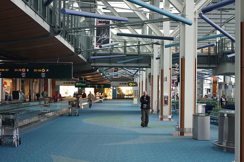 Distância do aeroporto de Vancouver para o centro