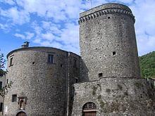Il castello Fieschi di Varese Ligure