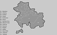 Karlovy Vary na mapě