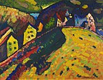 Vasily Kandinsky - Houses at Murnau - 1994.33 - Art Institute of Chicago.jpg