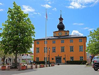 Vaxholm Place in Uppland, Sweden