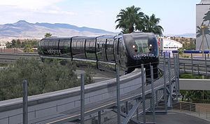 Monster Energy - Monster advertising on the Las Vegas Monorail (2007)