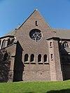 venray oostrum , rijksmonument 37228 o.l.v. kerk, gevel zijbeuk