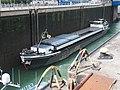 Venture (ship, 1957) ENI 02315395 in the locks of Iffezheim.JPG