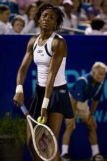 Venus playing world team tennis, Summer 2007
