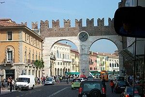 City gates, Verona, Italy