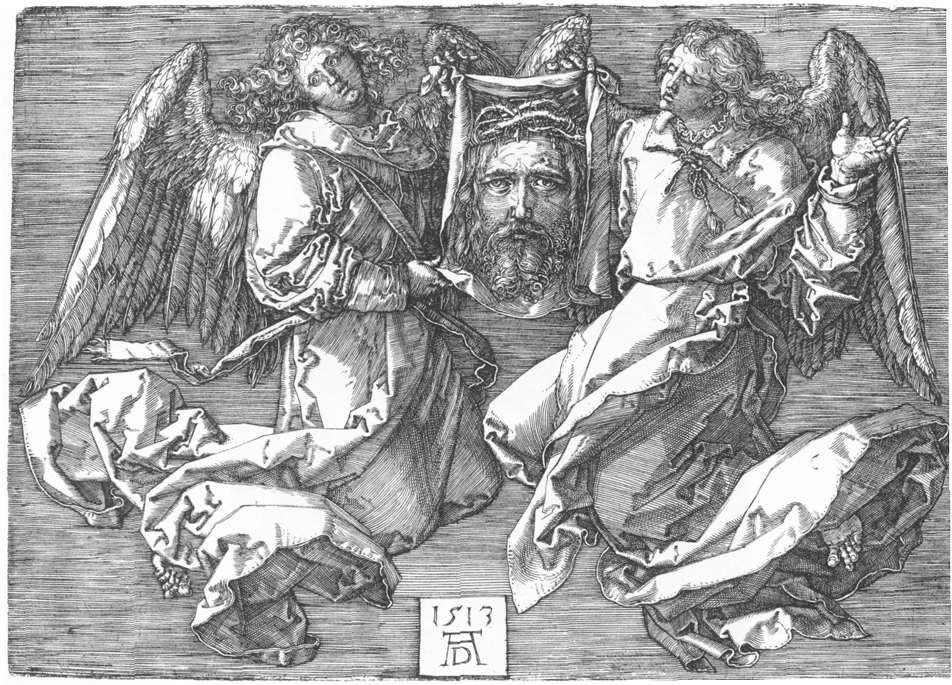 Gravado: O velo de Verónica (1513), de Durero.