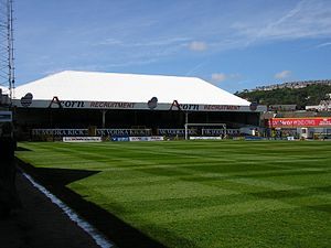 Vetch Field - The West Terrace