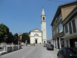 Via Maggiore e parrocchiale di Santa Giustina (Pernumia).jpg
