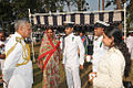 Vice Admiral Satish Soni interacting with naval families after the 2015 Republic Day Parade at ENC.JPG