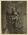 Victor Masson, Quasimodo dénichant des oiseaux, v. 1868. Maison de Victor Hugo. Paris.jpg