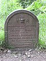 Victorian boundary marker, Forest of Dean - geograph.org.uk - 869094.jpg