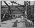 View South, South end - Chelyan Bridge, Spanning Kanawha River at U.S. Route 61 spur, Chelyan, Kanawha County, WV HAER WVA,20-CHEY,1-7.tif
