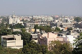 Bhavnagar Metropolitan City in Gujarat, India