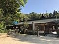 View of Mount Anjinsan from Oyamazumi Shrine.jpg