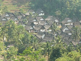 Kampung Naga - Image: View of Naga village