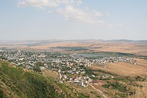 View of Shamakhi town from Gulustan fortress.jpg
