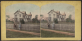 View of a country house, from Robert N. Dennis collection of stereoscopic views.png