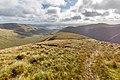 View towards Loch Lomond from Beinn Eich, Luss Hills, Scotland.jpg