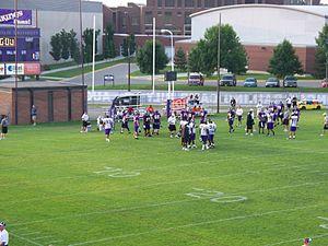 Minnesota State Mavericks - 2008 Minnesota Vikings training camp at Blakeslee Stadium.