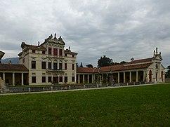 Villa Angarano, Bassano del Grappa (1540- ), con el cuerpo central de Baltasar Longhena