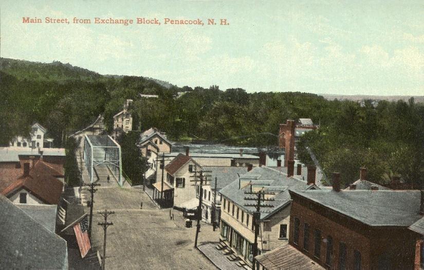 Village Street in 1911