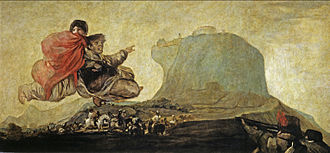 Asmodea - Image: Vision fantástica o Asmodea (Goya)
