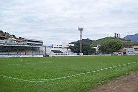 Vista parcial do campo do Estádio Louis Ensch 9191deca131cd