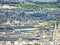 Vista torre eiffel - Pompidou museum - panoramio.jpg