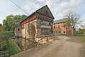 Vodní mlýn - areál (mlýn, sušárna obilí a čekanky, stodola, náhon) (Boharyně), 01.JPG
