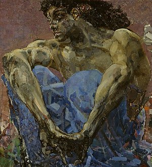 Luceafărul (poem) - Image: Vrubel Daemon Seated, core detail
