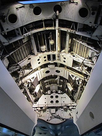 Operation Black Buck - The bomb bay of Vulcan XM598