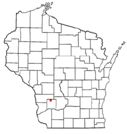 Location of Bloom, Wisconsin