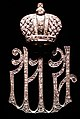 WLA hmns Diamond and silver Lady-in-Waiting Pin 2.jpg