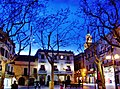 WLM14ES - Nocturna d'hivern a la Plaça de la Vila,Vilafranca del Penedès - MARIA ROSA FERRE.jpg