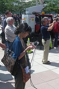 WNYC reporter Pier 84 jeh.jpg