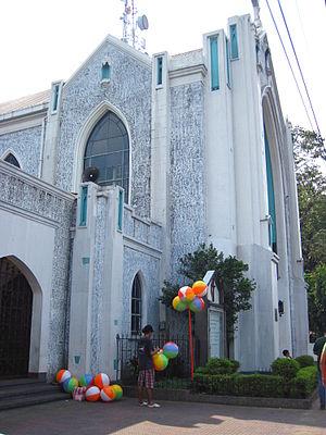 Central United Methodist Church (Manila) - Image: WTMP A trio a 11 2