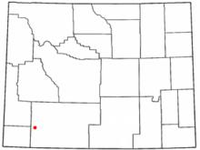 Little America Wyoming Map.Reliance Wyoming Wikivisually
