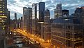 Wacker Drive and the Chicago River.jpg