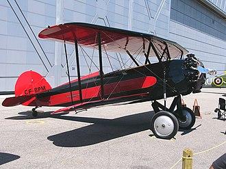 Waco Aircraft Company - 1929 model Advance Aircraft Company/Waco ATO 'Taperwing' of Vintage Wings of Canada.