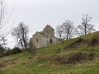 Wadenhoe - Wadenhoe Church from the car park - geograph.org.uk - 1218708
