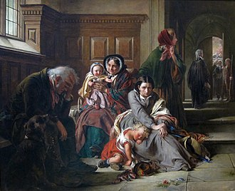 Verdict - Waiting for the Verdict, Abraham Solomon, 1859