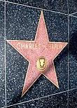 L'étoile de Charlie Chaplin sur la Walk of Fame