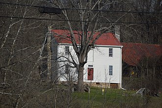 Walnut Grove (Bristol, Virginia) - Front and western end