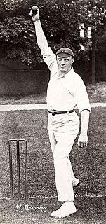 Walter Brearley English cricketer